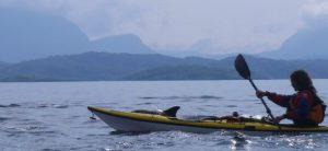 Kayaking at the Summer Isles