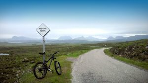 Cycling in Achiltibuie