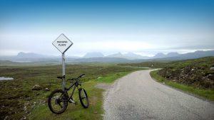 Cycling in Achiltibuie