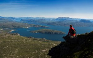 The summit of Ben Mor Coigach