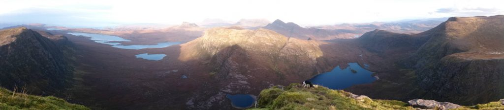 The Coigach and Assynt Mountains
