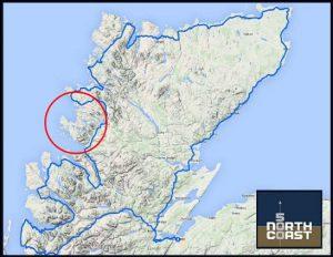 North Coast 500 Map