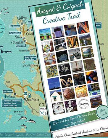 Coigach Assynt Creative Trail Leaflet