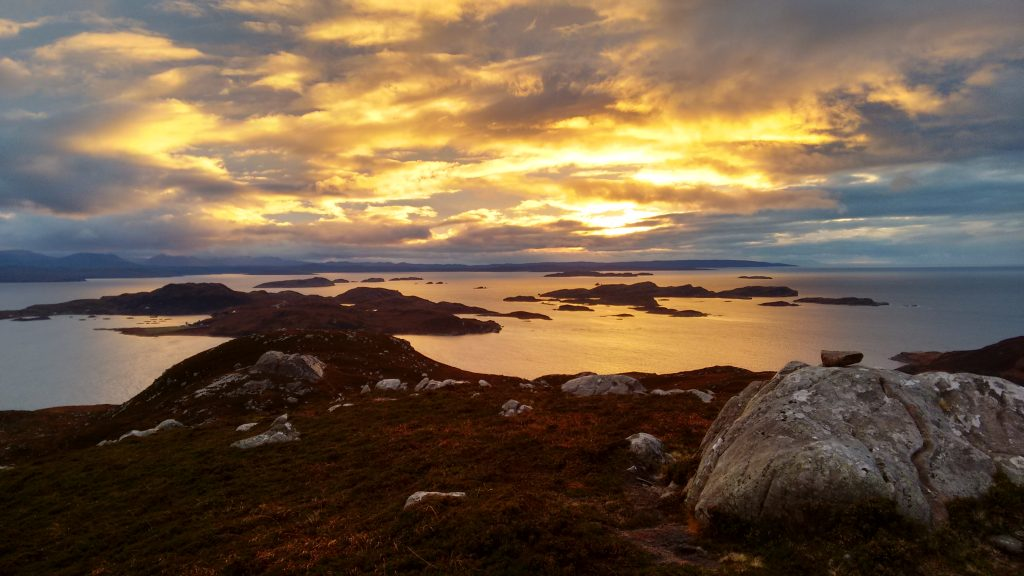 Summer Isles Sunset ©Peter Drake